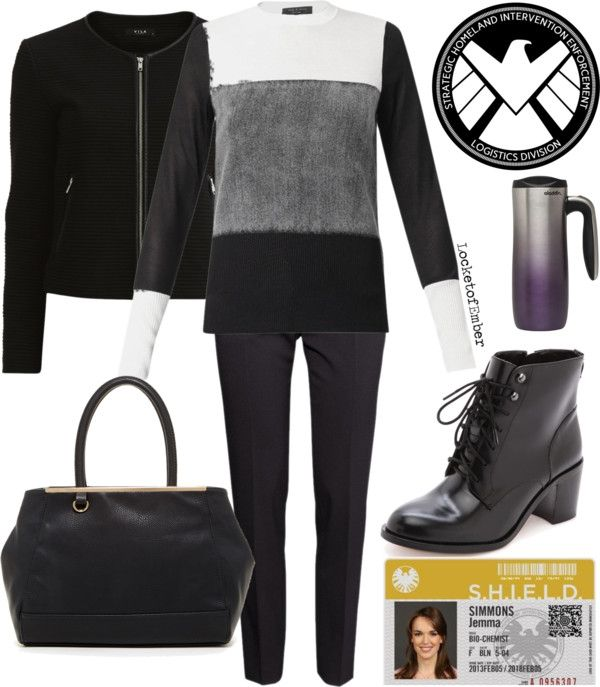 Jemma Simmons Inspired - Agents of SHIELD