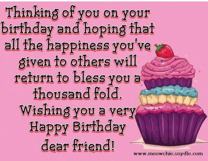 99 best Birthday cards images – Birthday Greetings for a Friend Quotes