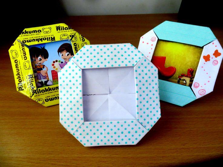 Origami Paper Photo Frames