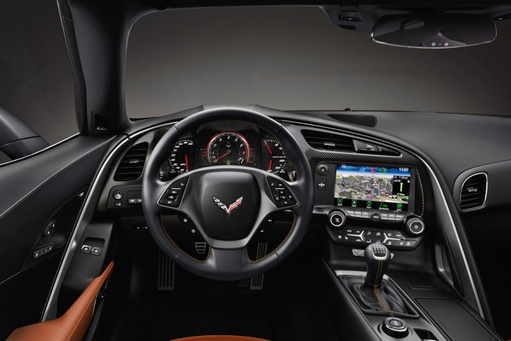 2014 @Chevrolet Corvette - Dashboard #cars