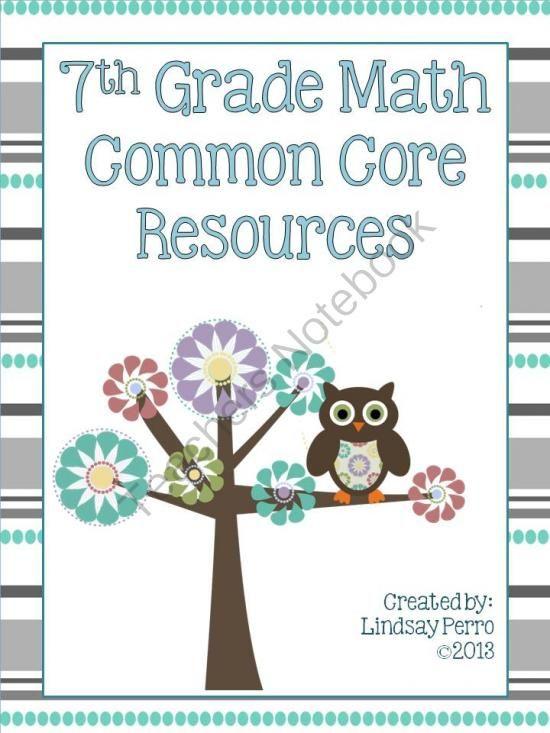 Common Core Math Resources 7th Grade Common Core Math