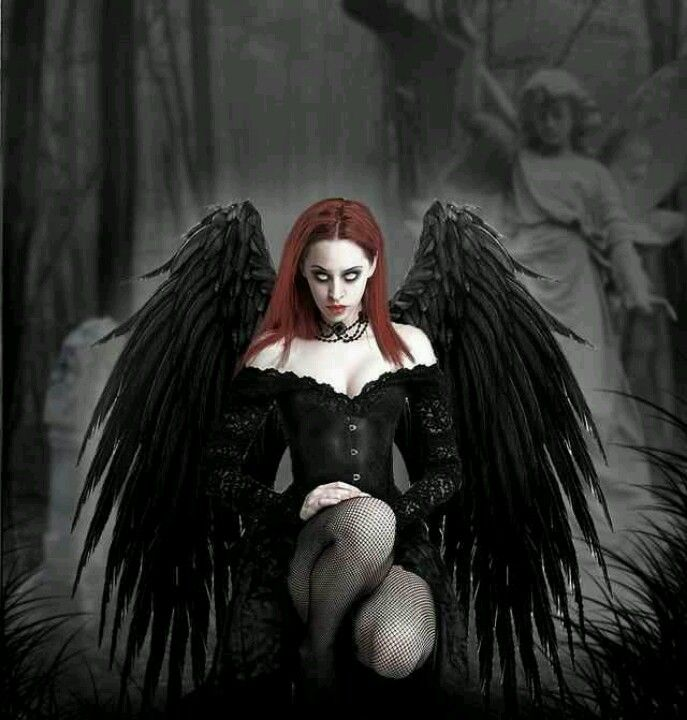 dark horror gothic angel - photo #38