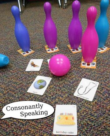 Speech Therapy Games featured Consonantly Speaking's Articulation Bowling post!  Follow all our boards at pinterest.com/linguahealth for our latest therapy pins and visit linguahealth.com for even more resources