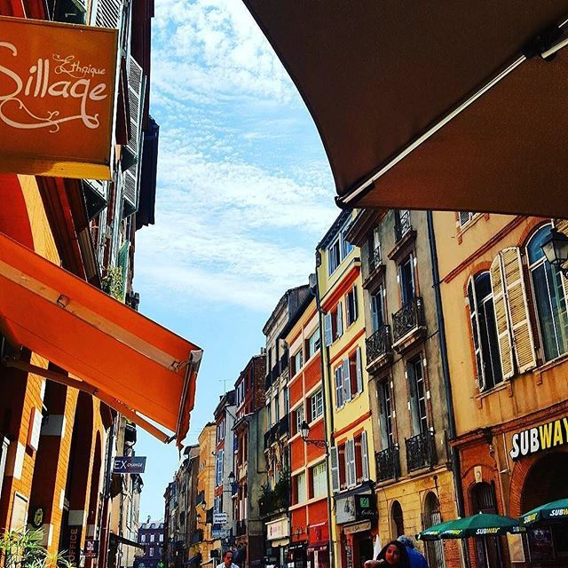 The streets of Toulouse
