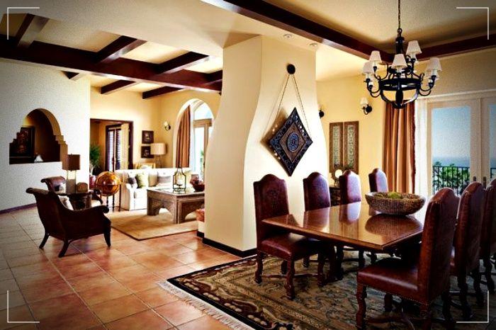 Casas Mediterráneas - Fachadas y decoración interior