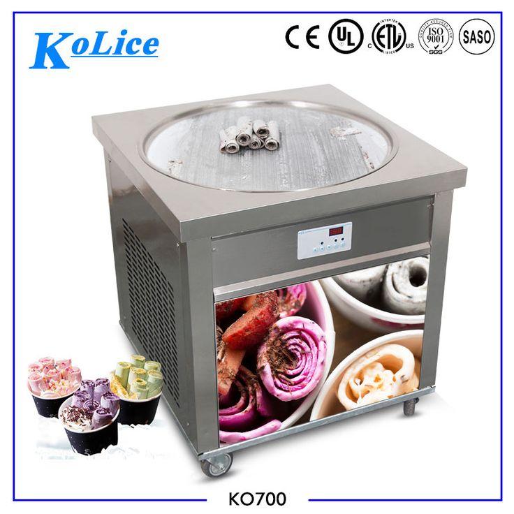 big ice pan 70cm round pan hot sale ice fry machine ice cream machine deep fryer machine price