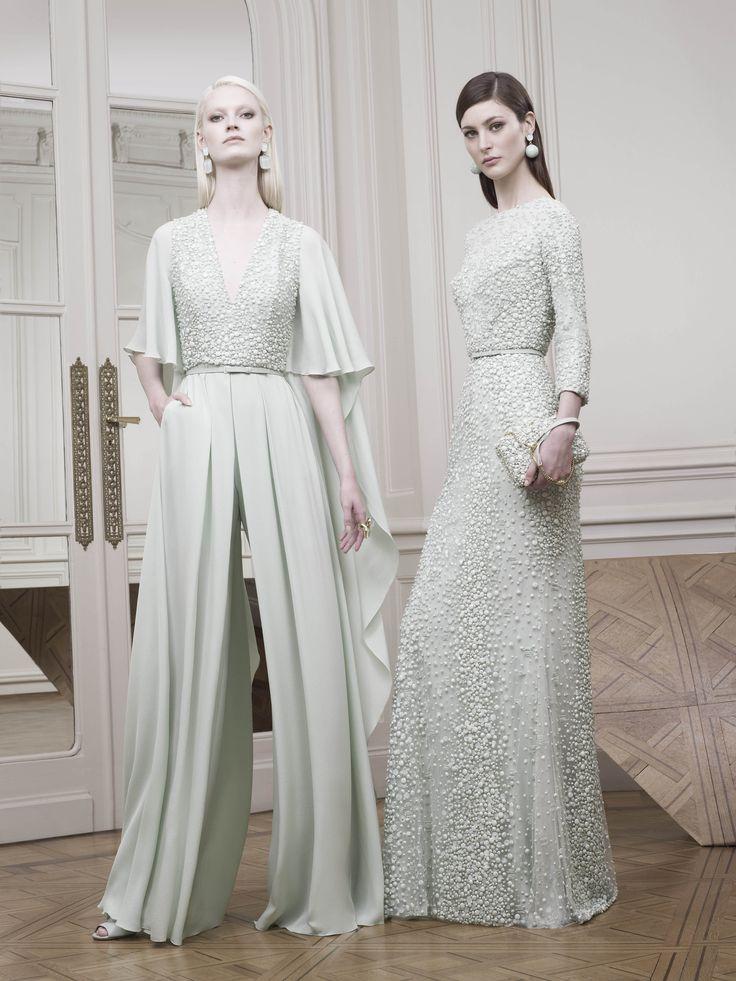 ELIE SAAB | R 2015 RtW | white, embellishment (photo only)