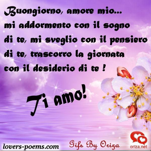 Immagini Del Buongiorno Amore Mio Love