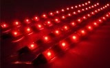 Cutequeen 30cm LED Car Flexible Waterproof Light Strip Red (pack of 4)