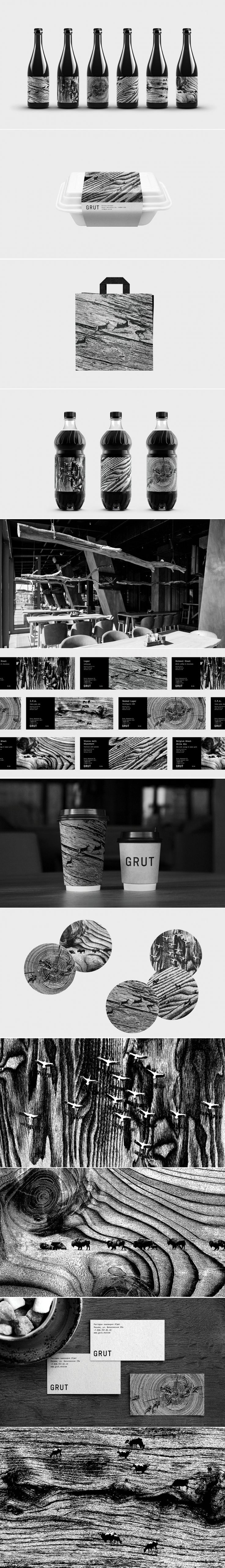 The Gritty Surreal Branding for this Russian Restaurant is Unique — The Dieline - Branding & Packaging Design