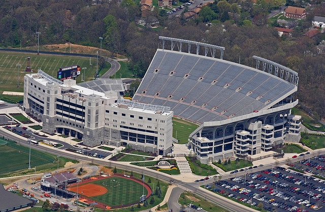 Lane Stadium Va Tech by konrad_photography, via Flickr
