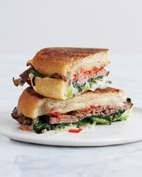 Beef, Broccoli Rabe and Provolone Panini // More Hot Melted Sandwiches ...