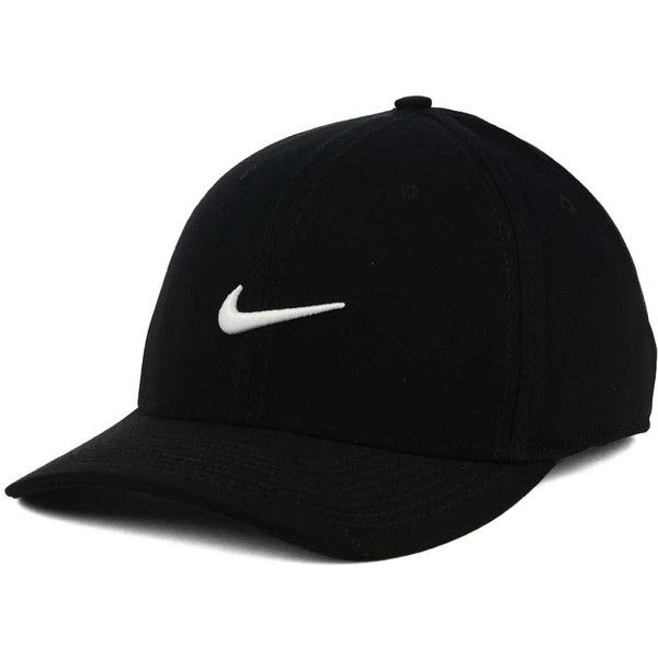 Nike Classic Swoosh Flex Cap ($25) ❤ liked on Polyvore featuring accessories, hats, cap hats, nike cap, nike hat and nike