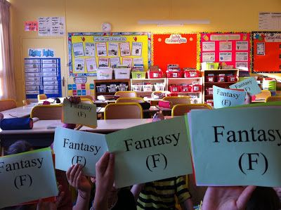 L'univers de ma classe: Les genres littéraires