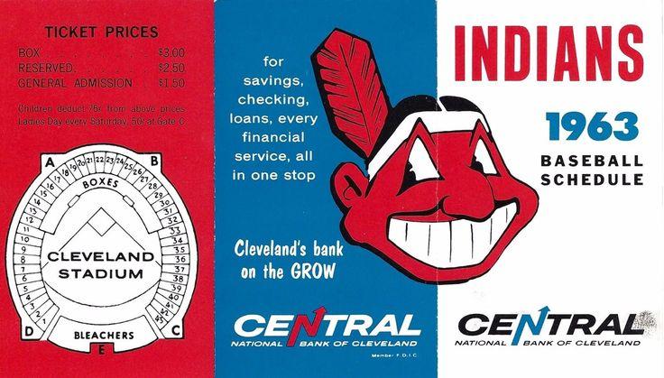 1963 Cleveland Indians schedule