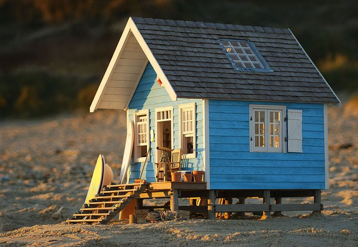 359 best model building images on pinterest model for Model beach huts