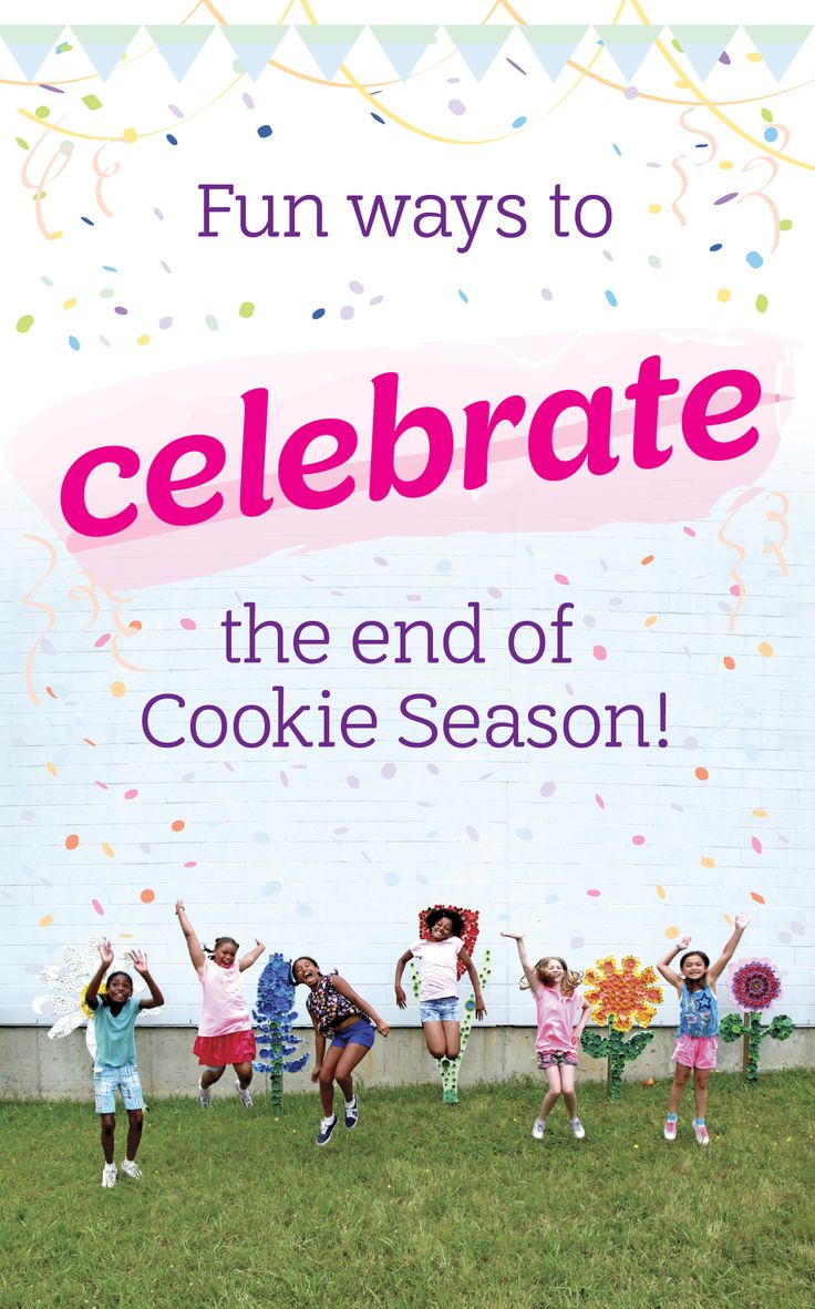 Fun Ways to Celebrate the end of Girl Scout Cookie Season | Now that the 2017 Girl Scout Cookie program is coming to a close, it's time to sit back, relax, reflect on your achievements, and #treatyoself (and your girls) to a bit of R&R. To get you started, here are 3 fun ways to celebrate the end of cookie season with your troop! via The Trailhead by Girl Scouts of Northern California