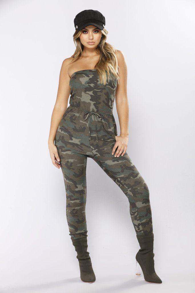 Troop Leader Camouflage Jumpsuit - Camo