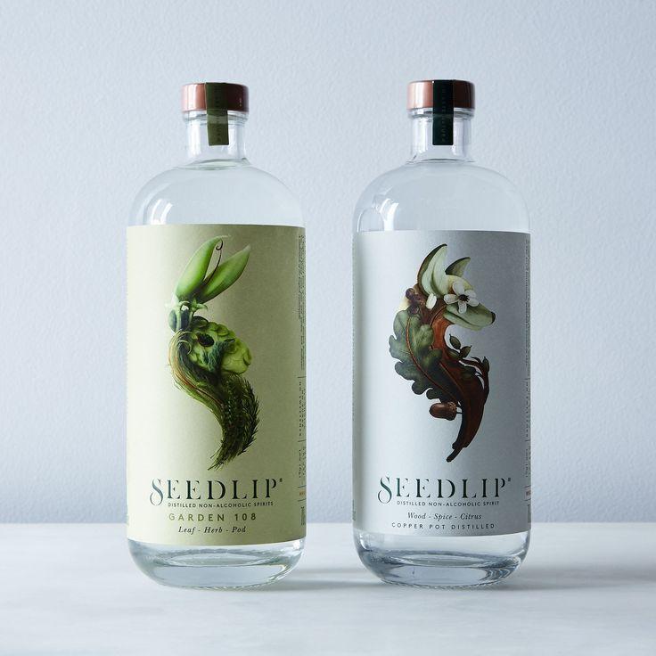 Seedlip Non-Alcoholic Spirits  ($40 Garden) For mocktails
