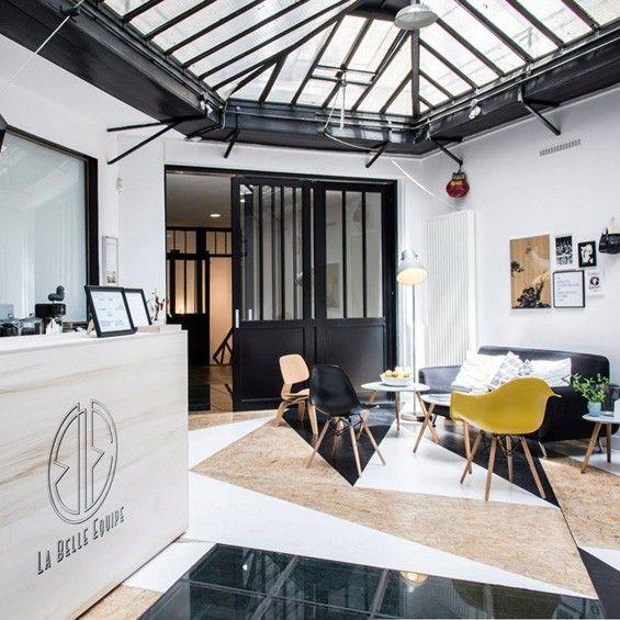 les 25 meilleures id es concernant design de salle de gym. Black Bedroom Furniture Sets. Home Design Ideas