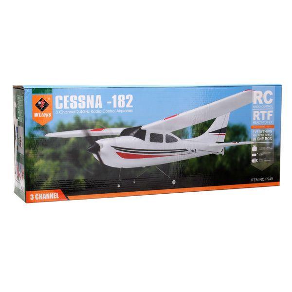 #WLtoys F949 3CH 2.4G #Cessna 182 Micro #RC #Airplane #RTF
