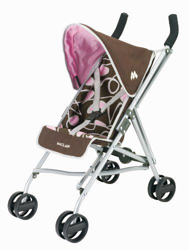 Carrito Muñeca Maclaren 'Quest Junior', marrón y rosa (KNORRTOYS.COM 71000) | Your #1 Source for Toys and Games