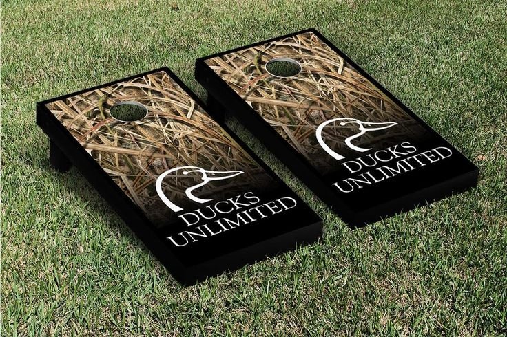 Ducks Unlimited  Cornhole Boards