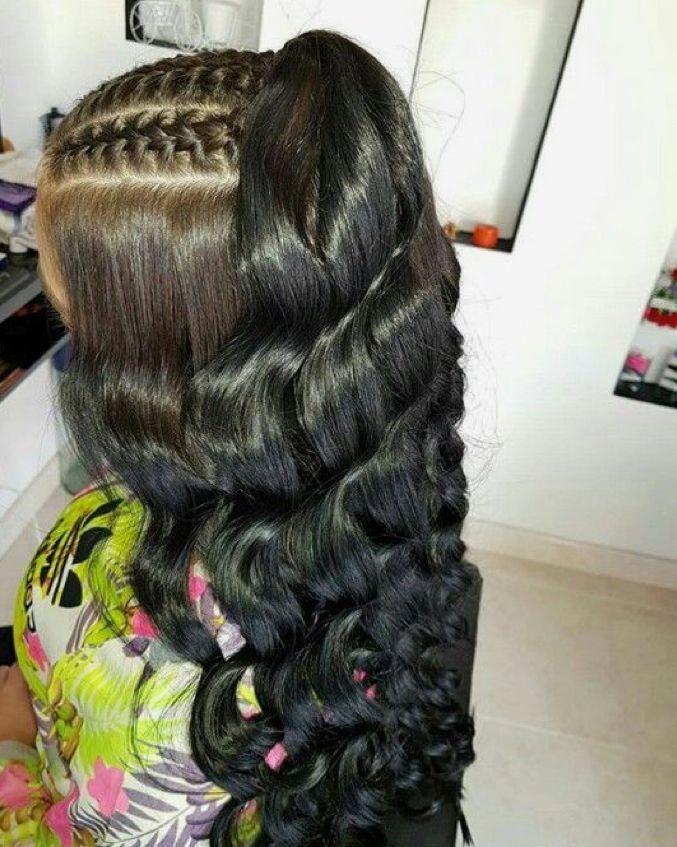 Stylish black hairstyles #blackhairstylesforlonghair