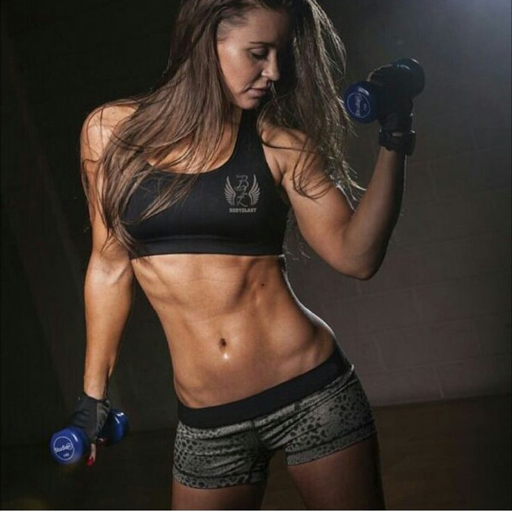 Djanilla Boekwechi! | Muscle Gals | Pinterest | Abs and Ab ...