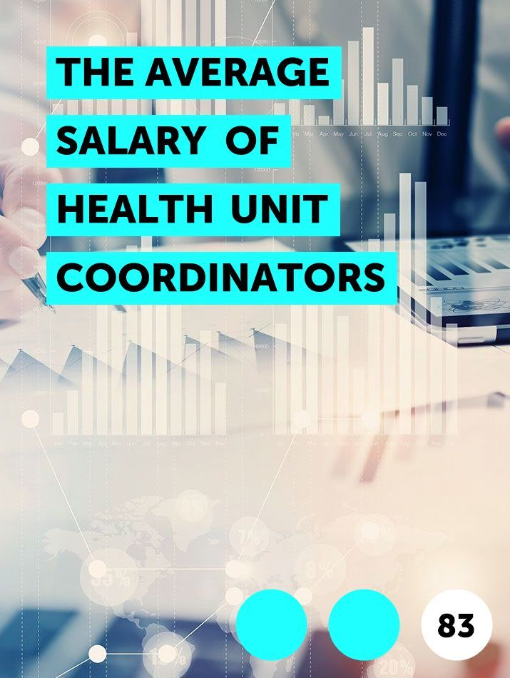 The Average Salary Of Health Unit Coordinators In 2020 Health