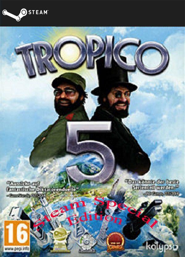 Tropico 5 - Steam Special Edition (STEAMGIFT) DIGITAL 8,61€