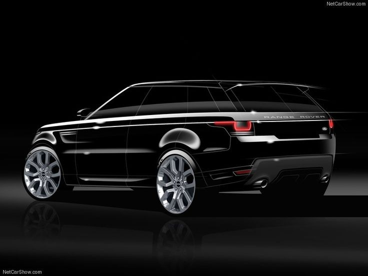Range Rover Concept Sketch                                                                                                                                                                                 Mais