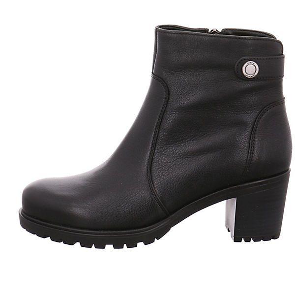 Damen Halbschuhe von Ara aus einem feinen hochwertigem Glattleder. Innen ist der Schuh mit einem cromfrei gegerbtem Leder ausgestattet. Der Schuh hat eine normale Weite. Der Trotteurabsatz hat eine Höhe von cirka 5 cm. Die Laufsohle ist aus Gummi. Der praktische Reisverschluß ist ideal zum einfachen an- und ausziehen. Die Schaftweite fällt normal aus (M-Schaft). Die Schuhgröße fällt regulär aus.<br /> <br /> Verschluss: Reißverschluss<br /> Absatzart: Block<...
