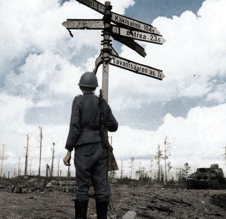 Finnish soldier - continuation war