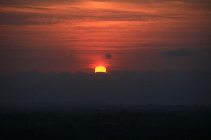Sunset di Candi Abang, Yogyakarta