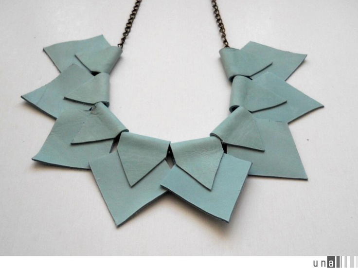 Mint Necklace. $25.00, via Etsy.