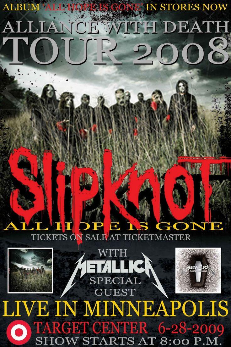 Slipknot Posters   Poster Konser Slipknot