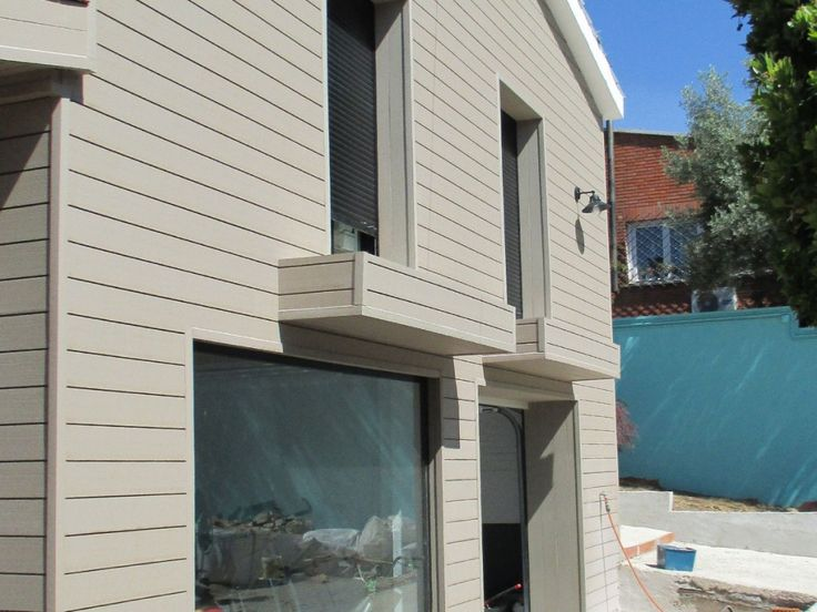 Top 25 ideas about high quality wpc wall panel on - Exterior plastic cladding for houses ...