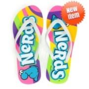 Nerds Candy Rainbow Flip Flops #itsugarsummer
