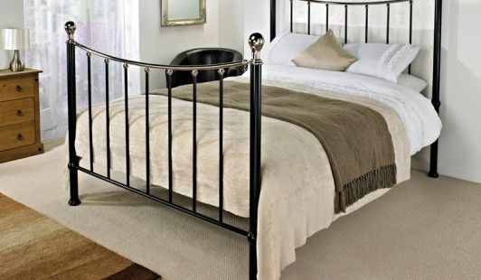 Bensons For Beds Le Black Metal Bed Frame Frames