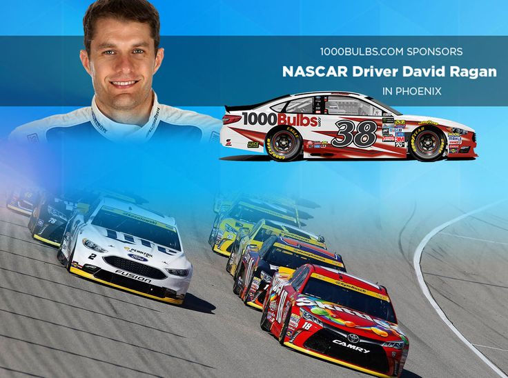 We're excited and proud to announce our sponsorship of NASCAR driver David Ragan at the Phoenix International Raceway in November.