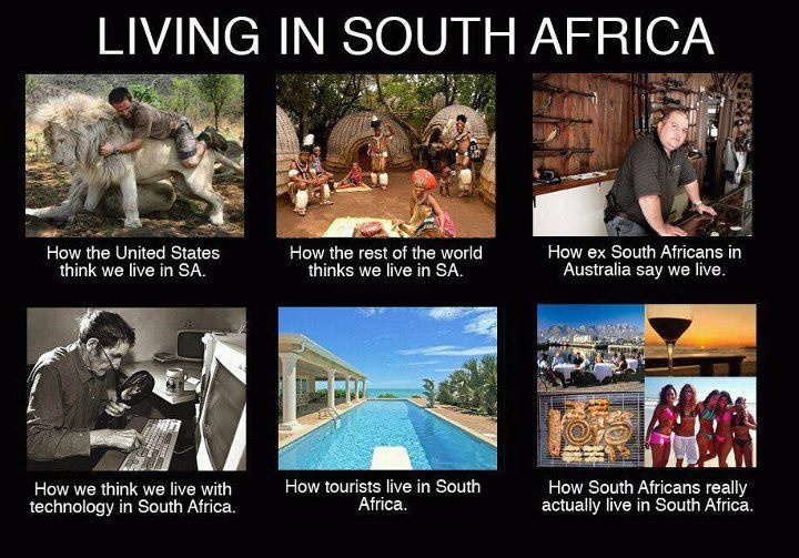 YOU ARE PROUDLY SOUTH AFRICAN WHEN: #