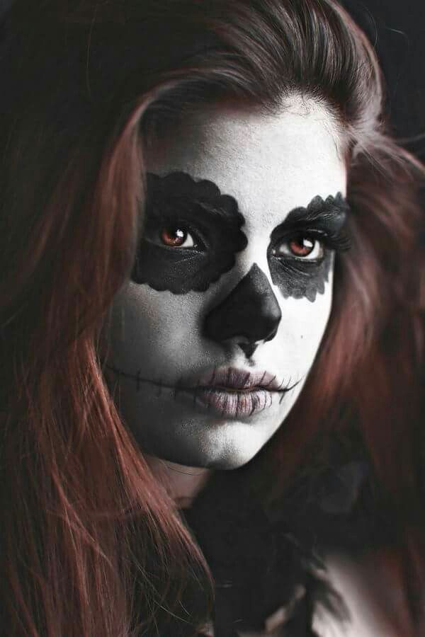 Best 25+ Maquillage tête de mort ideas on Pinterest | Maquillage ...