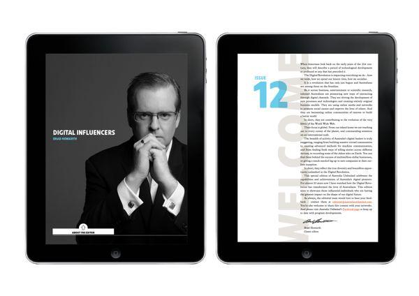 AU Digital Pioneers Issue by Jason Little, via Behance