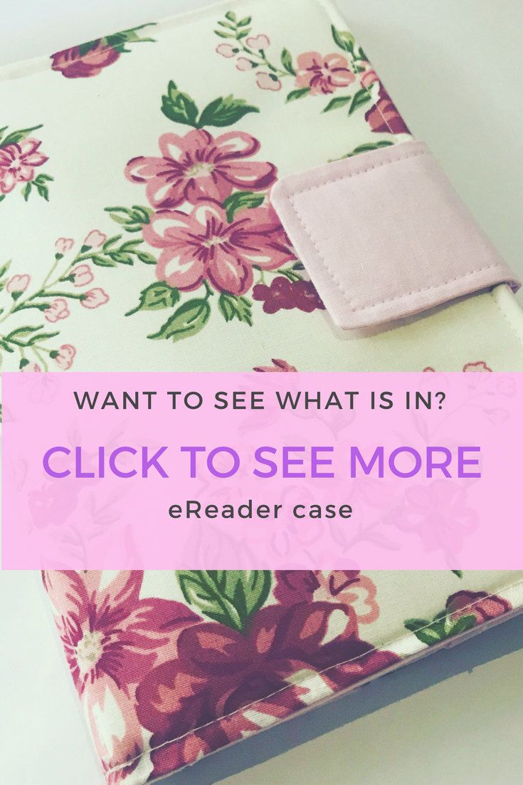 E-reader Case, Kindle Paperwhite Cover, Kindle cover, E-book
