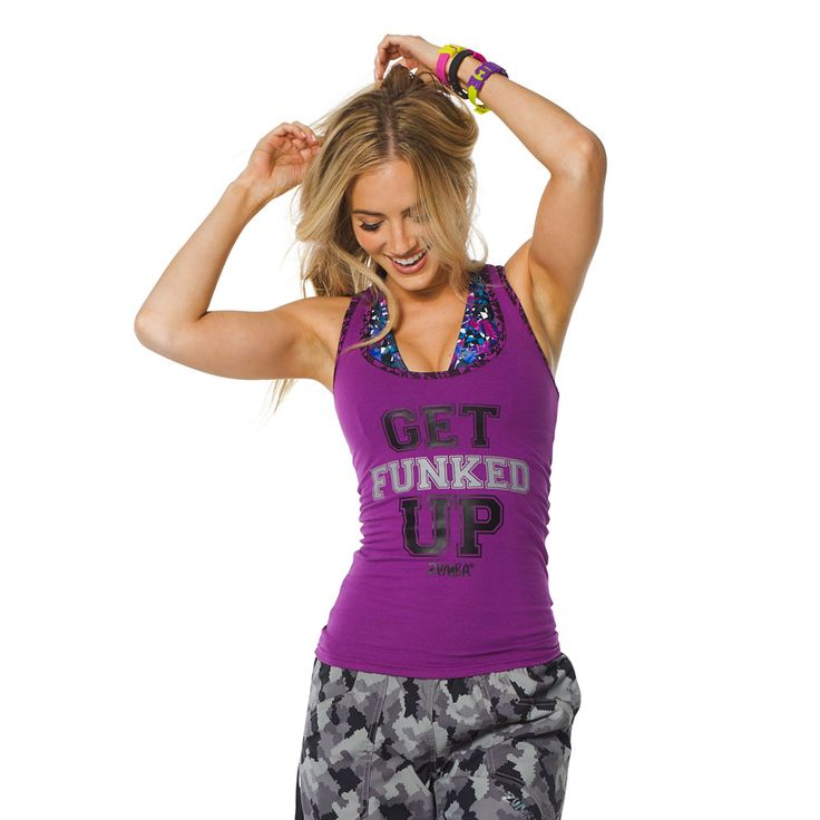 Funk It Up Racerback - Perfectly Purple