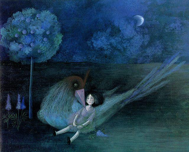 Fleur-de-Lupin et l'Oiseau Robert  Binette Schroeder