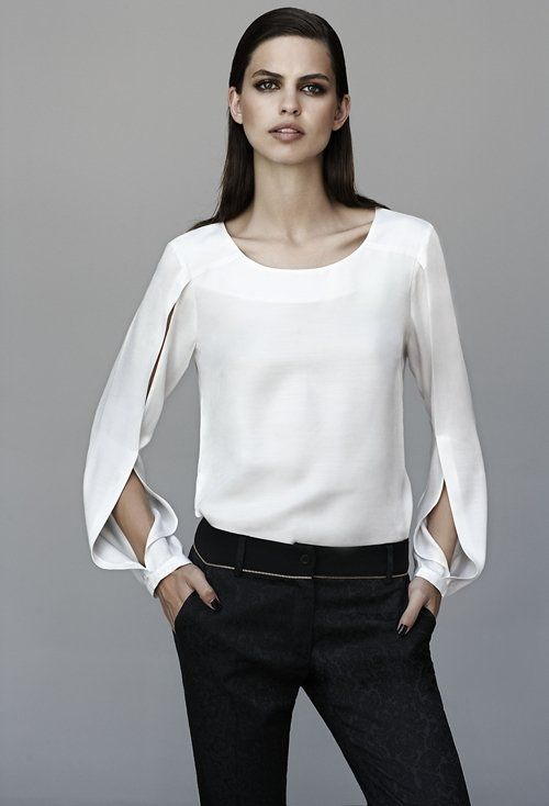 TRUCCO Fall - shirt is TO DIE FOR