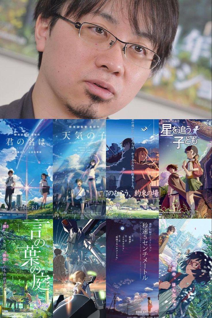 Creator Makoto Shinkai in 2020 Fan art, Anime, Poster