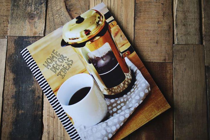 Make a photo covered journal! www.beautifulmess.com